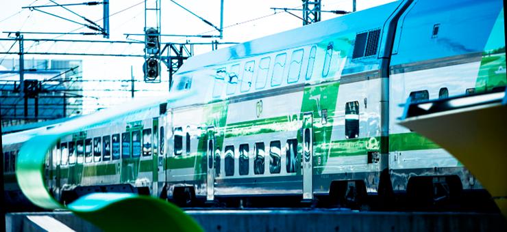 IC-juna Pasilassa