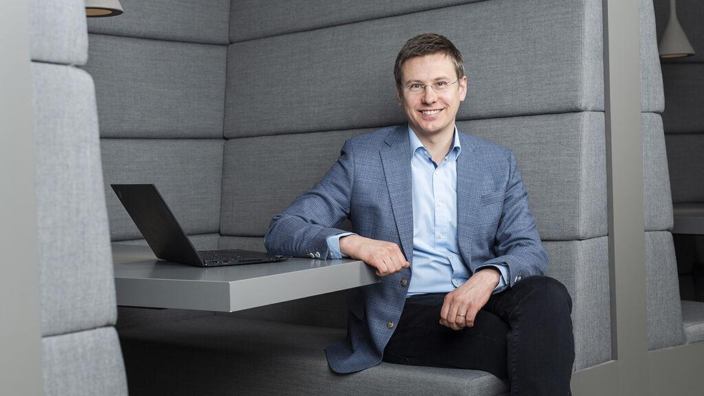 Jani Myllymäki tiimeineen vastaa VR Transpointin digikehityksestä ja digitaalisten palvelujen toimivuudesta.