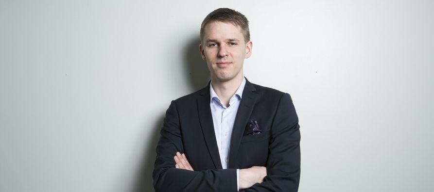 Logistiikkadivisioonan kehityspäällikkö Ilkka Anttila.