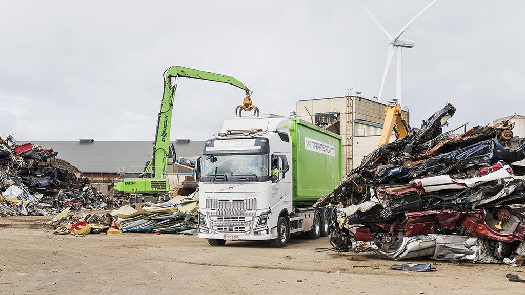 Tahkoluodosta metallit toimitetaan Stena Recyclingin teollisuusasiakkaille raaka-aineeksi.