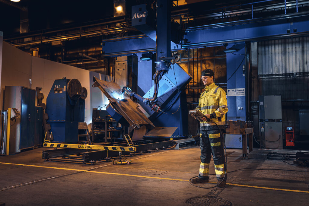 vr fleetcare quality requirements for fusion welding welding robot pieksämäki finland
