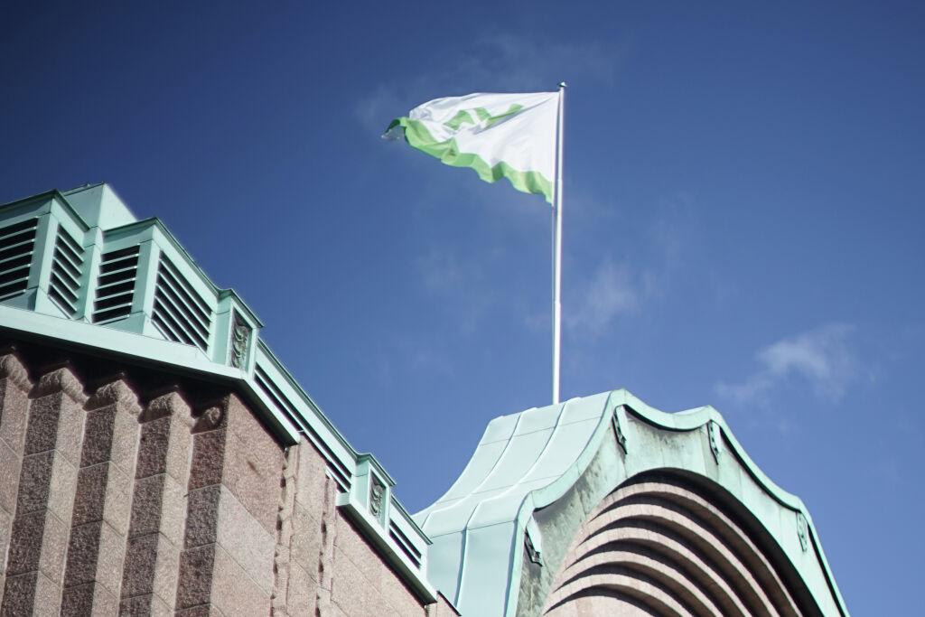 Helsingin rautatieasema, lippu