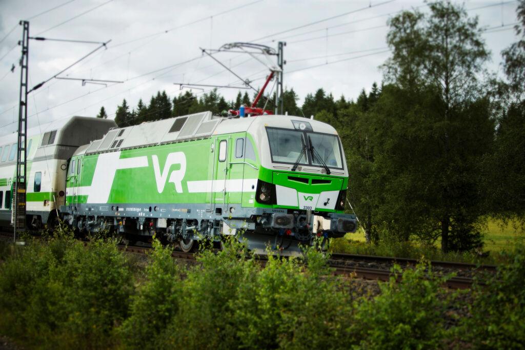 Vectron-sähköveturi liikenteessä