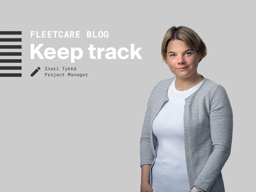 Writer of the blog Inari Tykkä