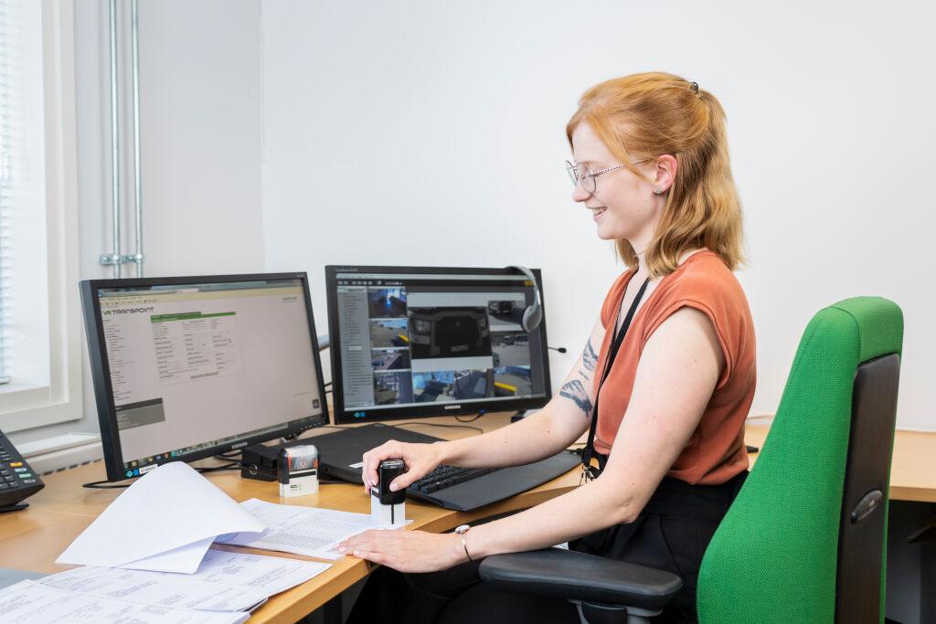 Yksi VR Transpointin palvelukeskuksen toimipisteistä sijaitsee Kouvolassa.