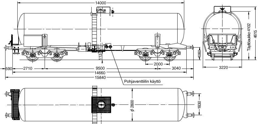 Bensiinivaunu - Sob Kaaviokuva