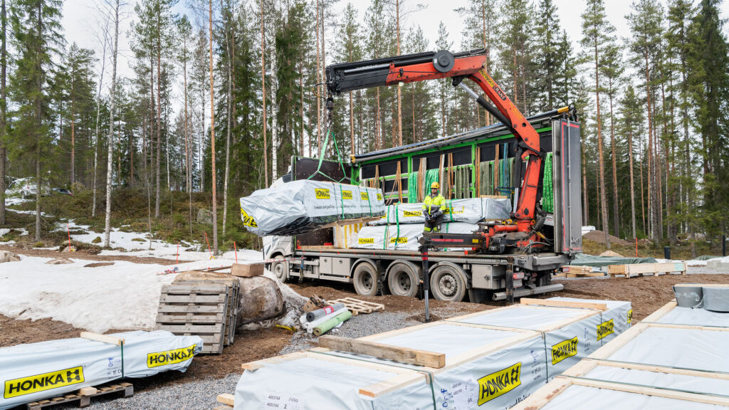 Rakennusteollisuuden kuljetuspalvelut myös purkukalustolla.