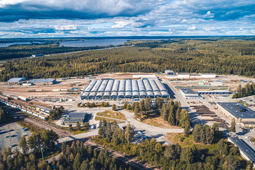vr fleetcare service workshop facilities pieksämäki finland