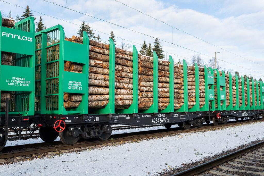 VR Groupin tytäryritys OOO Finnlog vuokraa ja operoi vaunuja Venäjällä.