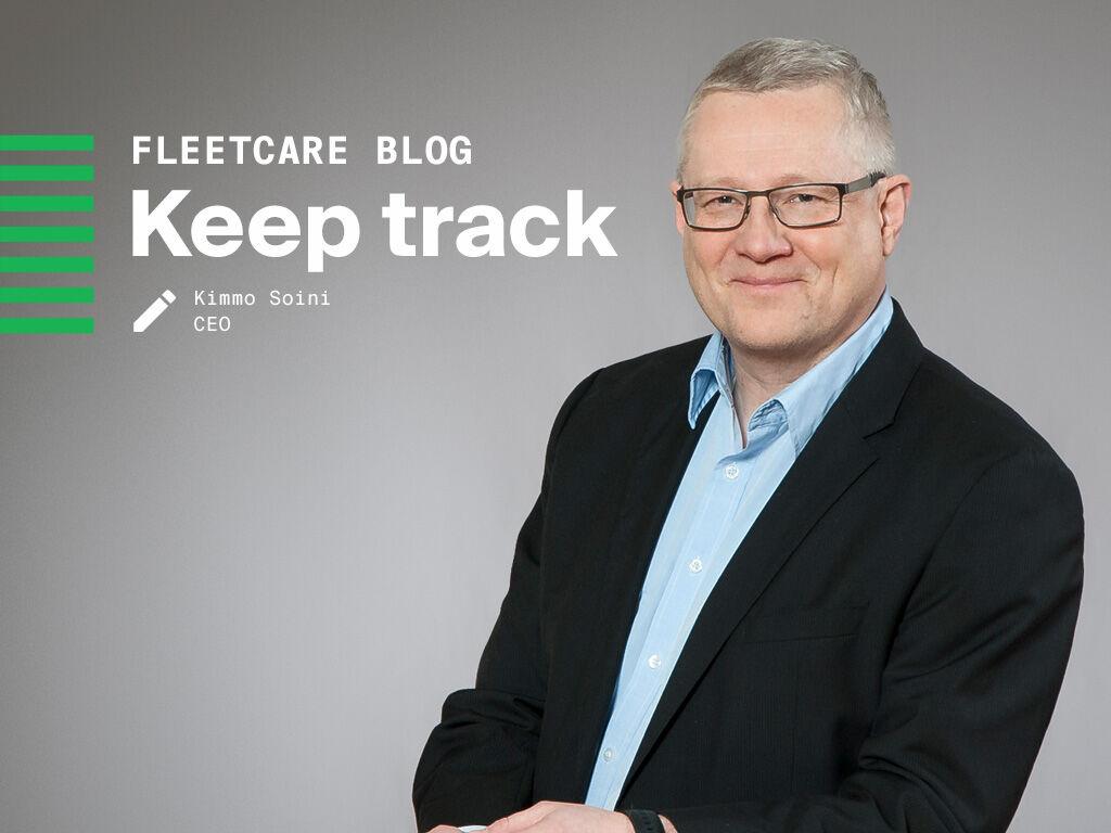 VR FleetCare's CEO Kimmo Soini