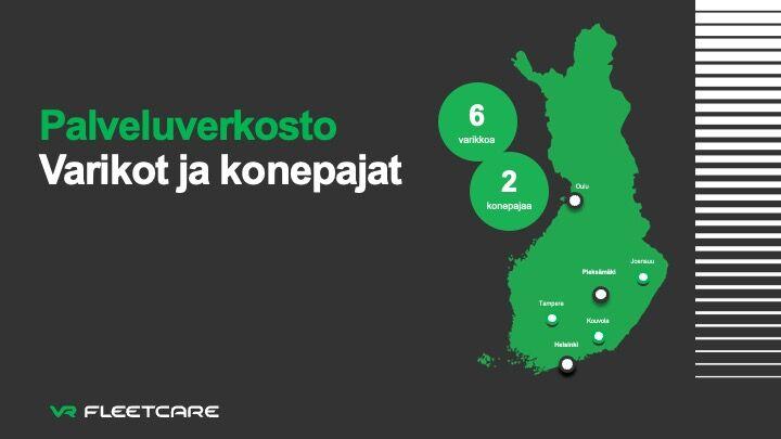 vr fleetcare service network finland