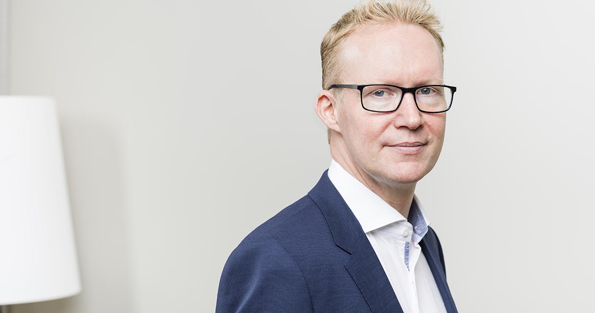 Toimitusjohtaja Rolf Jansson