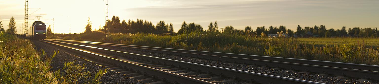 Summer, a train