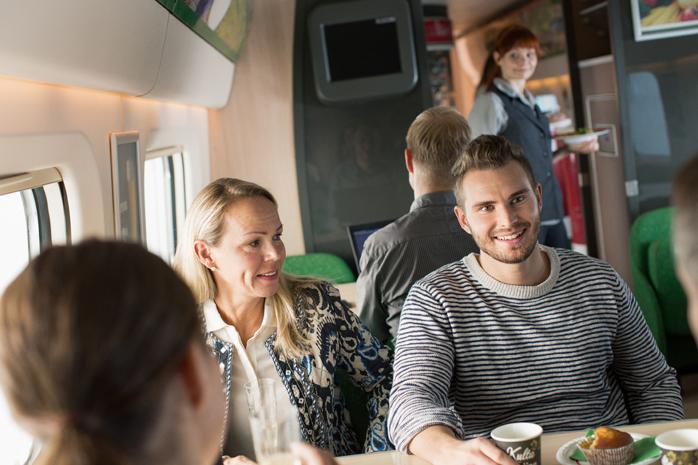 VR Group - Monipuolisia palveluita matkustajille